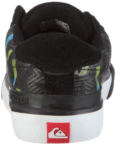 Advan Schwarz Basketball Black Grey Jungen Leather black Little Sportschuhe Quiksilver YqxX5T6