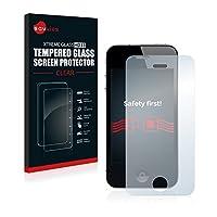 Savvies® HD33 Pellicola Proteggi-schermo in Vetro Temperato per Apple iPhone 4S con durezza superficiale 9H e la superficie antimacchia offre la massima protezione da graffi e abrasioni per il tuo dispositivo.  Bordi arrotondati...