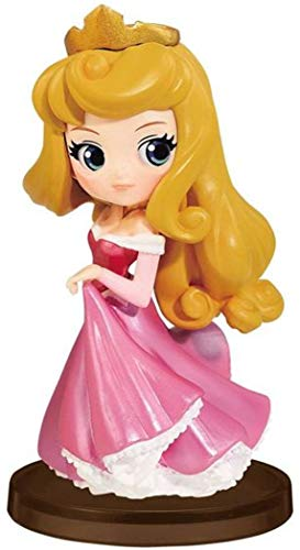 Figur Sammlung Aurora Briar Rose DORNRÖSCHEN - 7cm - Sleeping Beauty Girls Festival Disney Characters Petit QPOSKET Banpresto