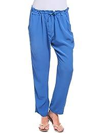 Womens Colombe Douce Pantalon Gris Avec Un Pantalon Cordon De Serrage Isabella Roma EsWQebgqD