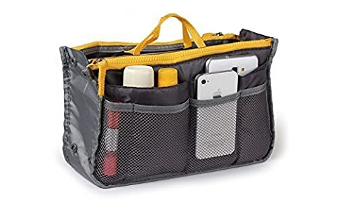 THE #1 Rated Go Beyond (TM) Travel Insert Organizer Compartment Bag Handbag Purse Large Liner Insert-Organizer Tote Bag