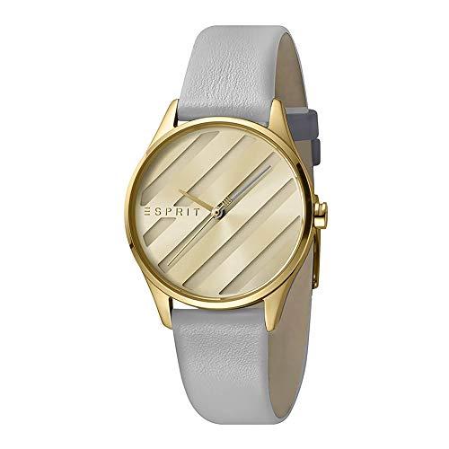Esprit es1l029l0025E. ASY Oro Champagne–Reloj de Pulsera para Mujer