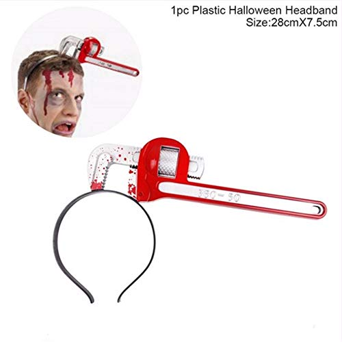 Ytdzsw Halloween Decor Horror Messer Blutige Machete Halloween Party Supplies Halloween Stirnband Requisiten Für 2018 Festival Decor