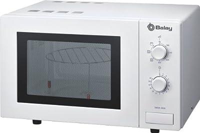 Balay 3WGB2018 Libre instalación con Grill, 17 litros, Microondas, 1270 W, 5 Velocidades, Blanco