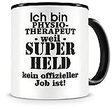 Samunshi® Ich bin Physiotherapeut Tasse Beruf Geschenk Kaffeetasse Teetasse Kaffeepott Kaffeebecher Becher 300ml Physiotherapeut