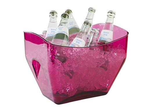 APS Wein- / Sektkühler in pink, 32 x 21,5 x 24,5 cm