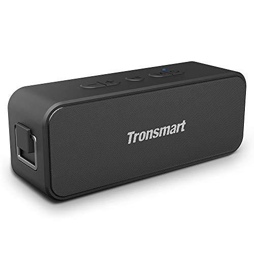 Enceinte Bluetooth Portable, Tronsmart T2 Plus Haut-Parleur sans Fil Extérieur Speaker 20W Bass e...