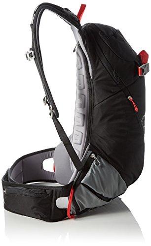 Tourenrucksack Bergans Istinden 26L Backpack Black/Br Red/SolidLtGrey