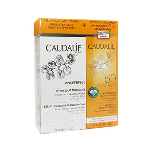 Caudalie Cofre Vinoperfect serum (30 ml) + filtro solar SPF50 regalo (25ml)