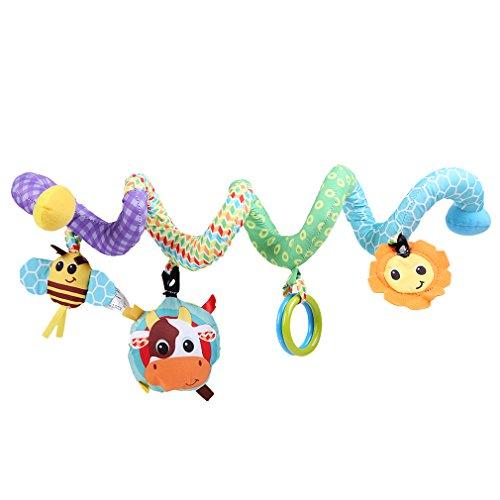 HENGSONG Baby Plüschtiere, Kleinkindspielzeug, Beschwichtigen Schlaf Spielzeug, Babyschale Kinderwagen Kinderbetten Hängen Baby Rasseln