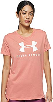 Under Armour Women's Graphic Sportstyle Clashort Sleeveic Crew
