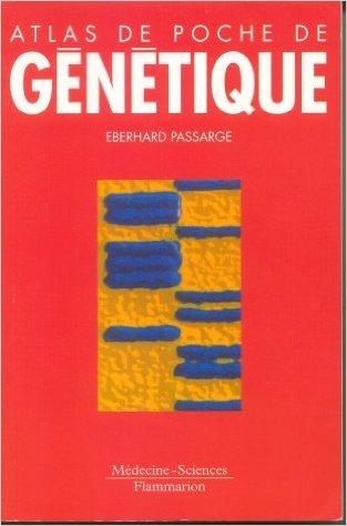 Atlas de poche de génétique de Eberhard Passarge ( 28 janvier 2003 ) par Eberhard Passarge