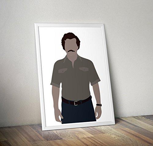 Narcos Inspired Poster - pablo escobar print - Autres tirages TV/Cinéma en différentes tailles (Cadre non inclus)