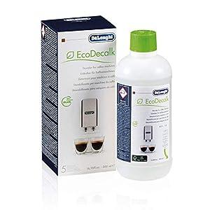 De'Longhi DLSC500 ECODECALK Decalcificante Macchine Caffè Ecologico, Ingredienti da Materie Prime Naturali, 500 ml 1 spesavip