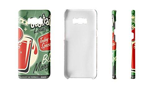 LEotiE SINCE 2004 Handy Schale passend für Samsung S8 Alkohol Retro Bloody Mary Bar