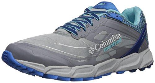 Columbia CALDORADO III, Zapatillas de Trail Running para Mujer, Gris Earl Grey, Coastal Blue, 40 EU...
