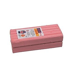 Stellwag 100238-de modelar Plastilin, 1000g, Color Rosa