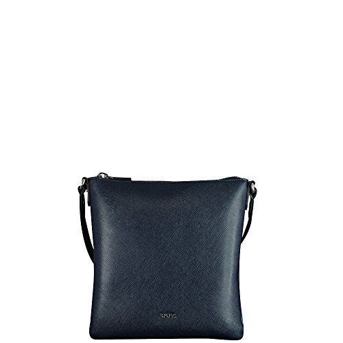 Joop Damen Saffiano Jeans Dia Shoulderbag Mvz Schultertasche, 3x26x24 cm Blau (Dark Blue)