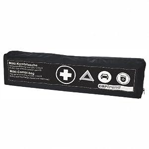 Cartrend 7730045 Kombitasche, schwarz, DIN 13164, mit Malteser Erste-Hilfe-Sofortmaßnahmen