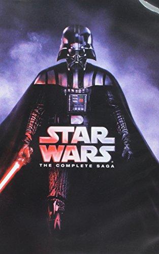 Star Wars: Die komplette Saga (I, II, III, IV, V, VI, 12-disc Box Set) DVD Format.
