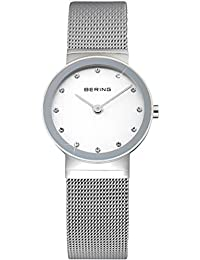 Bering Time Damen-Armbanduhr XS Classic Analog Quarz Edelstahl 10122-000