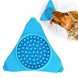 Fressnapf für Hunde, langsame Fütterung und Ablenkung von Hunden, interaktives Lecken-Pad mit Saugnapf für Dusche und Hund
