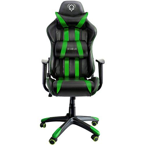 X-one silla de oficina mecanismo de inclinación cojin lumbar ...