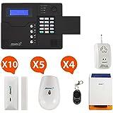 Atlantic'S NM-STV-KIT2 MD-326R Alarme maison sans Fil Gsm application smartphone st-v Kit extra 3