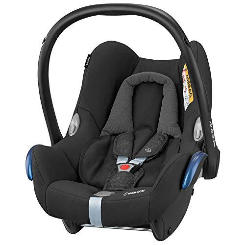 Maxi Cosi CabrioFix Baby Car Seat Group 0+, ISOFIX, 0-12 Months, 0-13 kg, Nomad Black
