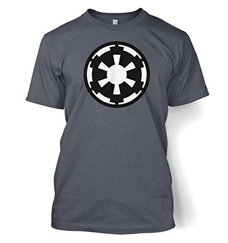 Preisvergleich Produktbild Galactic Empire flag / logo t-shirt - Star Wars (Large (42/44)/Heather Navy) Blau
