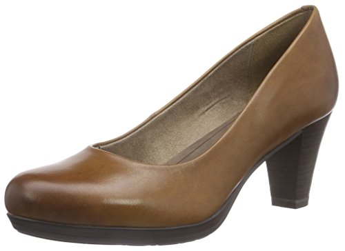 Tamaris 22404, Decolleté chiuse donna Marrone (Marrone (Noce moscata 311))