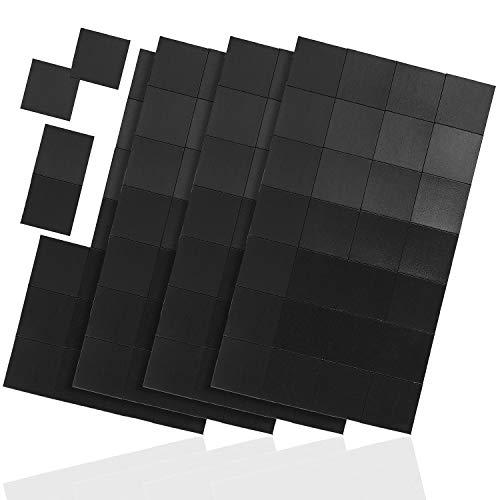 WINTEX 112 selbstklebende Magnetplättchen - 20x20mm, zuschneidbar - zur Befestigung von Postern, Fotos, Postkarten, Bildern - Quadratische Magnete