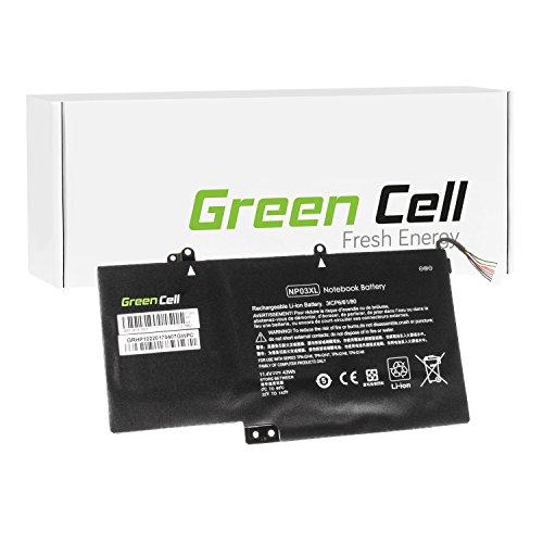 Green Cell® Batería para HP Envy x360 15-U101NS Ordenador (3700mAh 11.4V Negro)