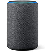 Amazon Echo (3rd generation) | Smart speaker with Alexa, Charcoal Fabric