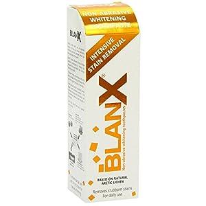 BlanX Intense Détachage Dentifrice 75ml Original Naturel Blancheur Non Abrasif