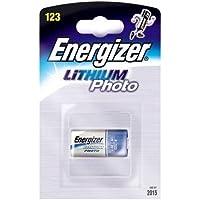 Energizer Appareil photo CR123A cellules