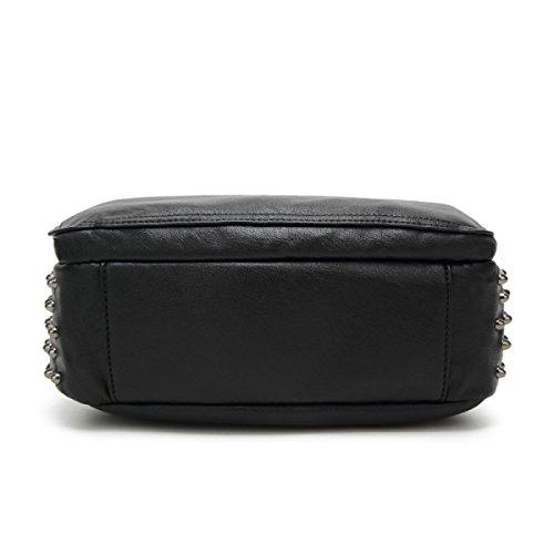 Frau Wilde Mode Casual Schultertasche Taschen Black