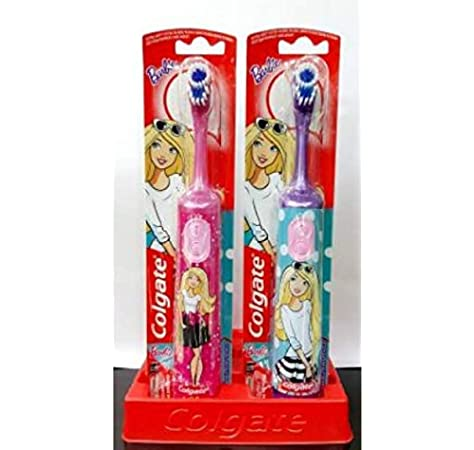 Colgate Kids Barbie Extra Soft Battery Toothbrush 3+ Years