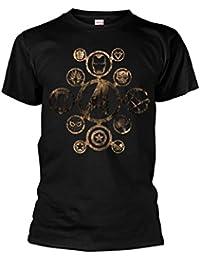 Marvel Official Men's Unisex Avengers Infinity War Character Logos T-Shirt - Phd