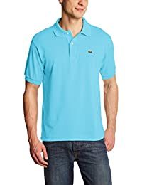 Lacoste L1212  - 00 - Polo Homme  Bleu (Marquises)-XXXXX-Large (Taille Fabricant : 10)