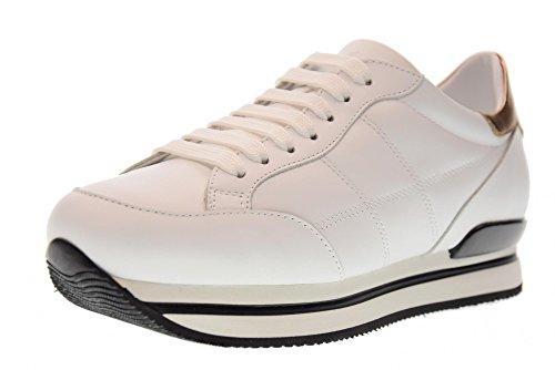 HOGAN scarpe donna sneakers HXW2220J060GGA09KI H222 ALL. H CUCITURA Bianco