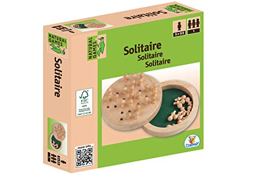 Natural Games Solitaire Holz 12 cm -