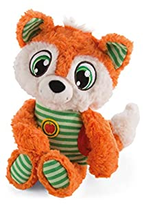 NICI 42680 - Zorro de Peluche (22 cm), Color Naranja y Verde