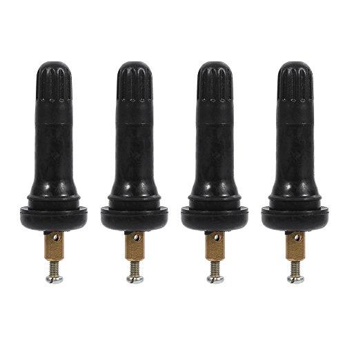 4 valvole a scatto per pneumatici, sistema di monitoraggio della pressione degli pneumatici, valvola con sensore TPMS