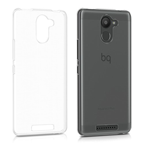 kwmobile bq Aquaris U Plus Hülle - Handyhülle für bq Aquaris U Plus - Handy Case in Transparent