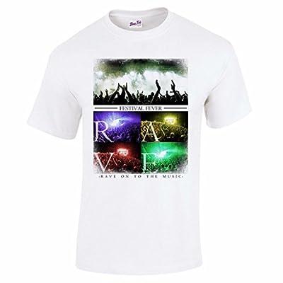 Herren Festival Rave Musik T-Shirt