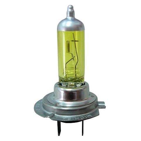 AutoStyle Goldvision Leuchtiode H7, 55W, 12V, Gelb, Set von 2, DWH7G (Eld Glühlampen)