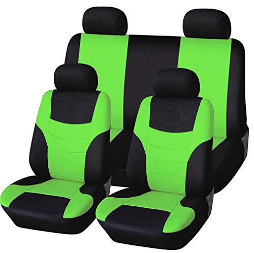 HotYou Coprisedili Auto universali - per Auto con sedili Standard Medio Piccoli,Rimovibile e Lavabile,V