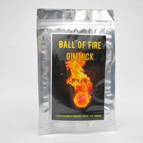 MilesMagic Magier Ball des Feuers Gimmick Fireball Gun Zaubertrick (Flash-Papier oder Baumwolle erforderlich)