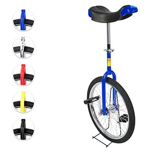 Monociclo 20 pulgadas con estructura de aluminio y acero (diferentes colores a elegir)